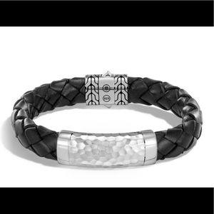 John Hardy Classic Chain Bracelet Hammered Silver
